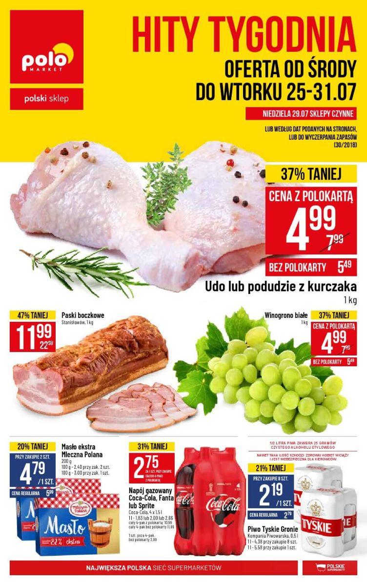 Polomarket, gazetka 31.07.2018