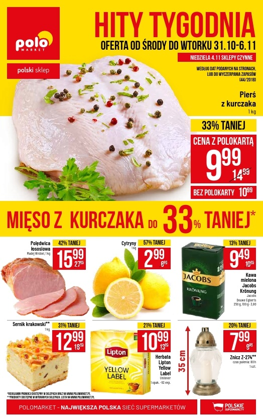 Polomarket, gazetka do 06.11.2018