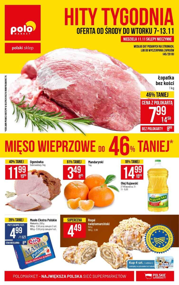 Polomarket, gazetka do 13.11.2018