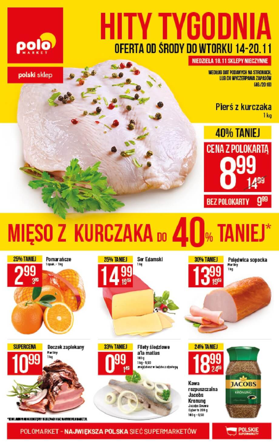 Polomarket, gazetka do 20.11.2018