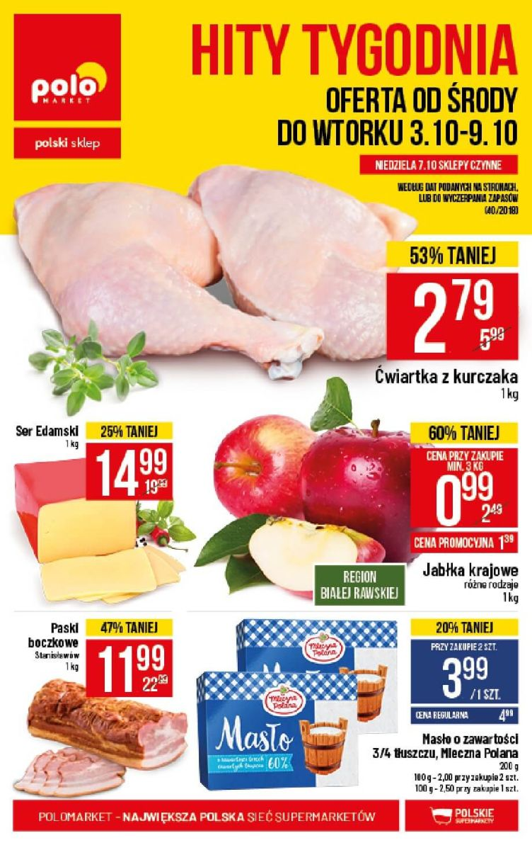 Polomarket, gazetka do 09.10.2018