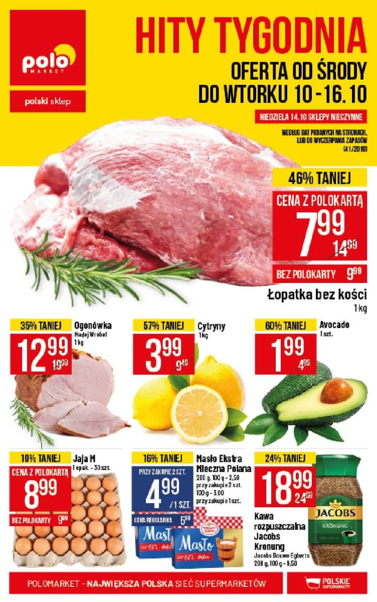 Polomarket, gazetka do 16.10.2018