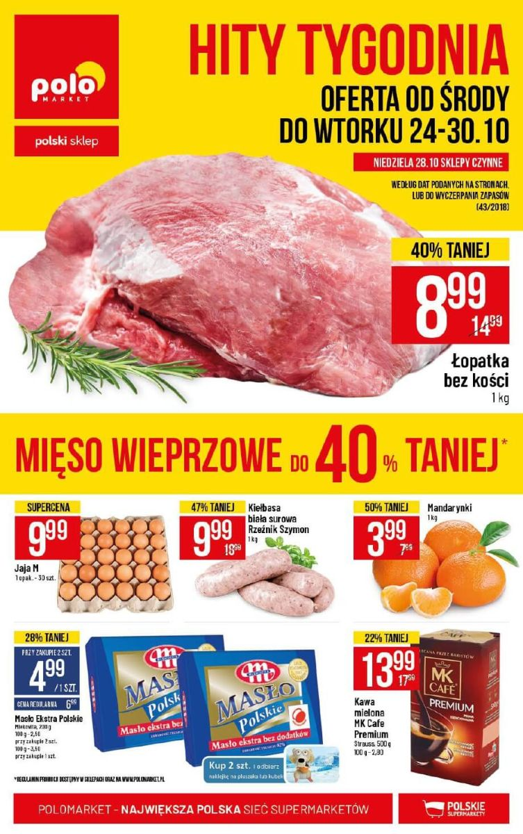 Polomarket, gazetka do 30.10.2018