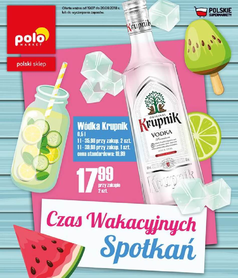 Polomarket, gazetka do 20.08.2018