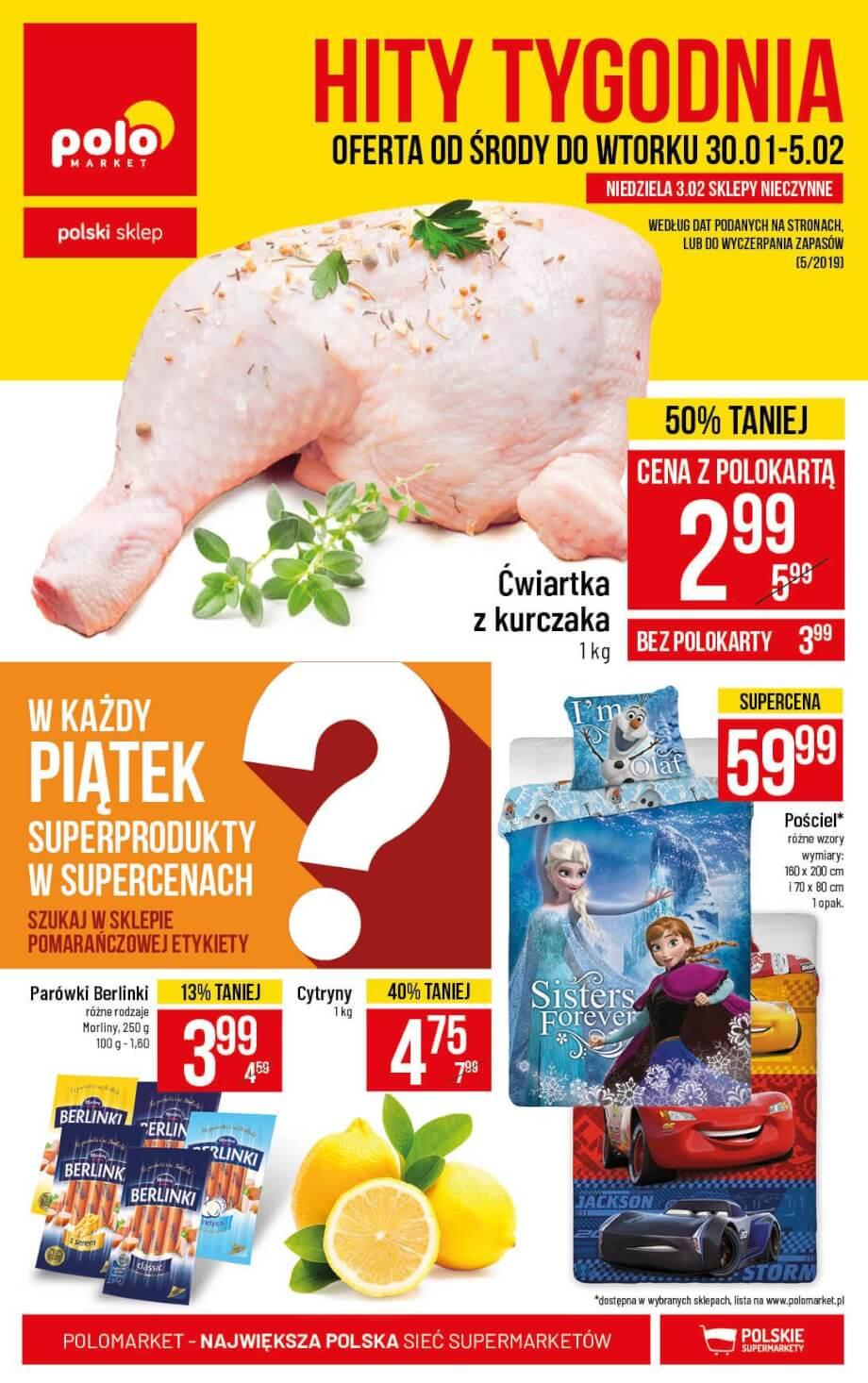 Polomarket, gazetka do 05.02.2019