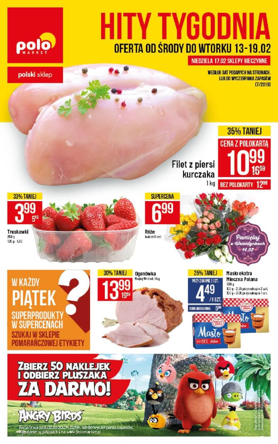 Polomarket, gazetka do 19.02.2019