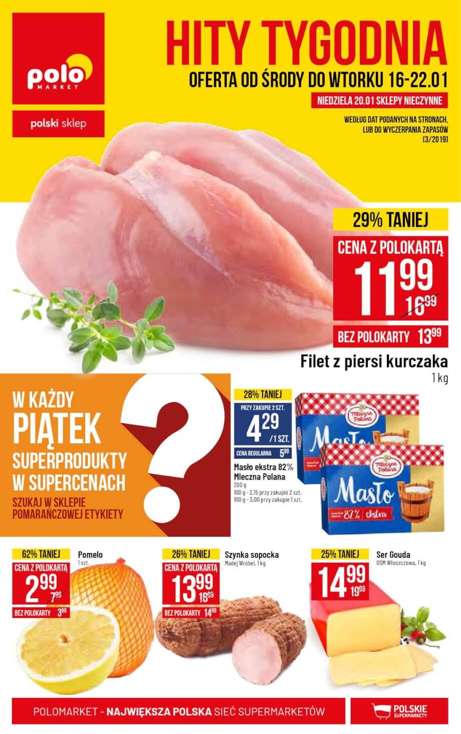 Polomarket, gazetka do 22.01.2019