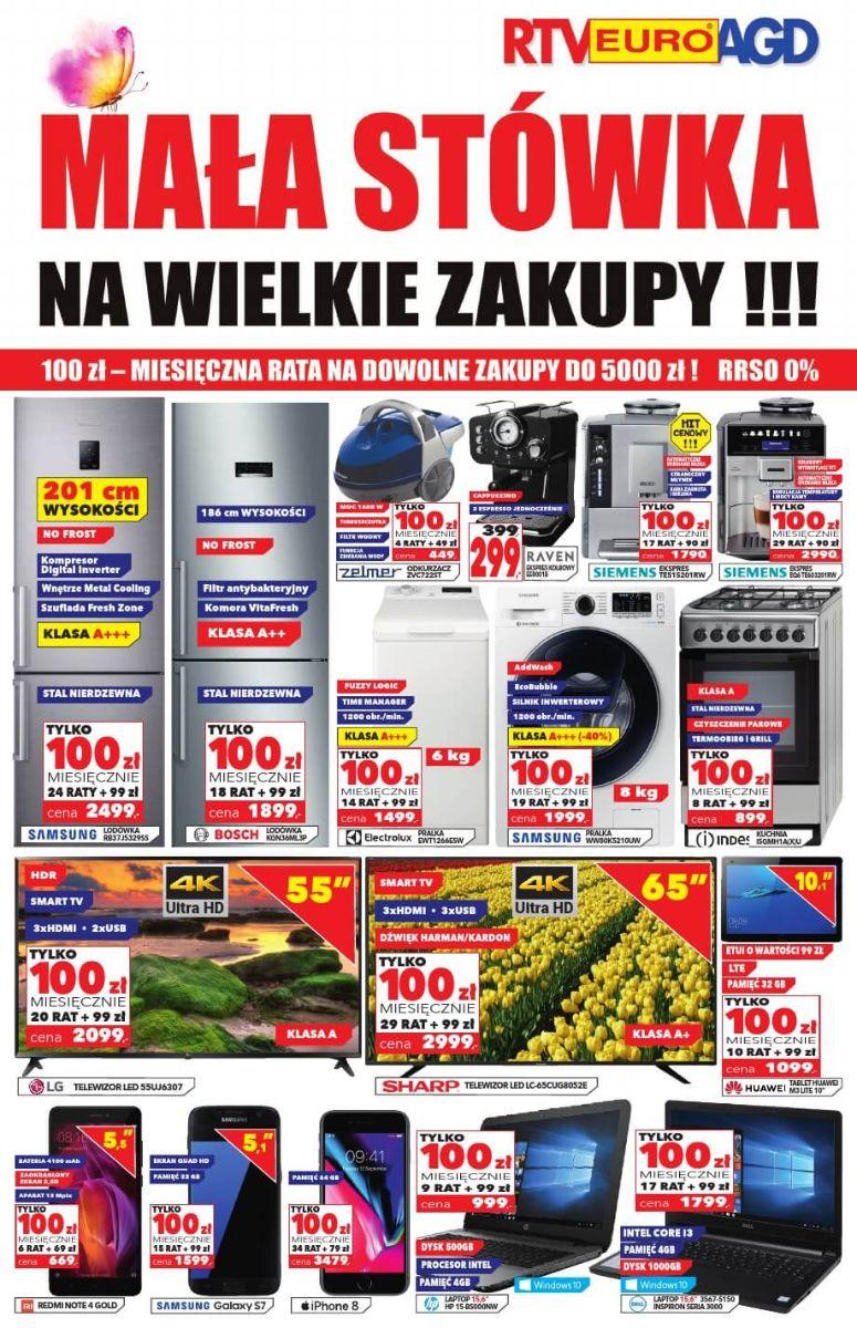 RTV Euro AGD, gazetka do 30.08.2018