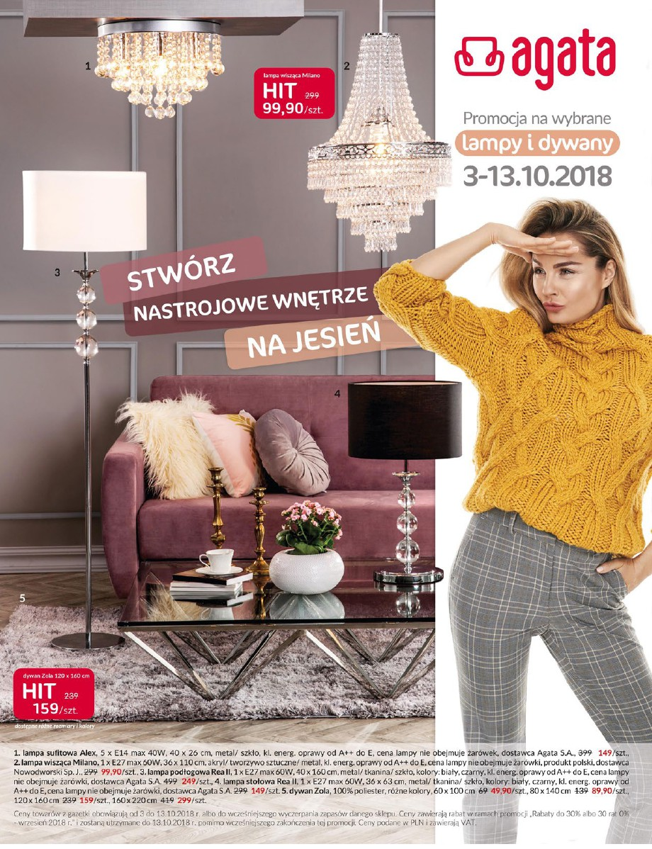 Agata, gazetka do 13.10.2018