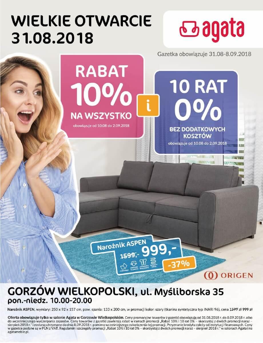 Agata, gazetka do 08.09.2018