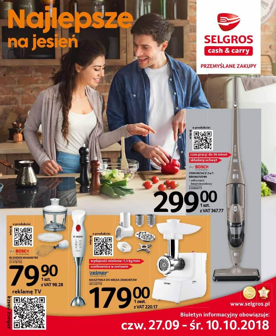 Selgros, gazetka do 10.10.2018