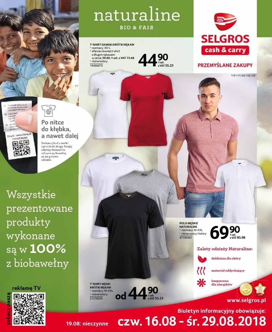 Selgros Cash and Carry, gazetka do 29.08.2018
