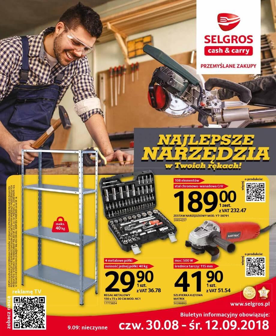 Selgros Cash and Carry, gazetka do 12.09.2018