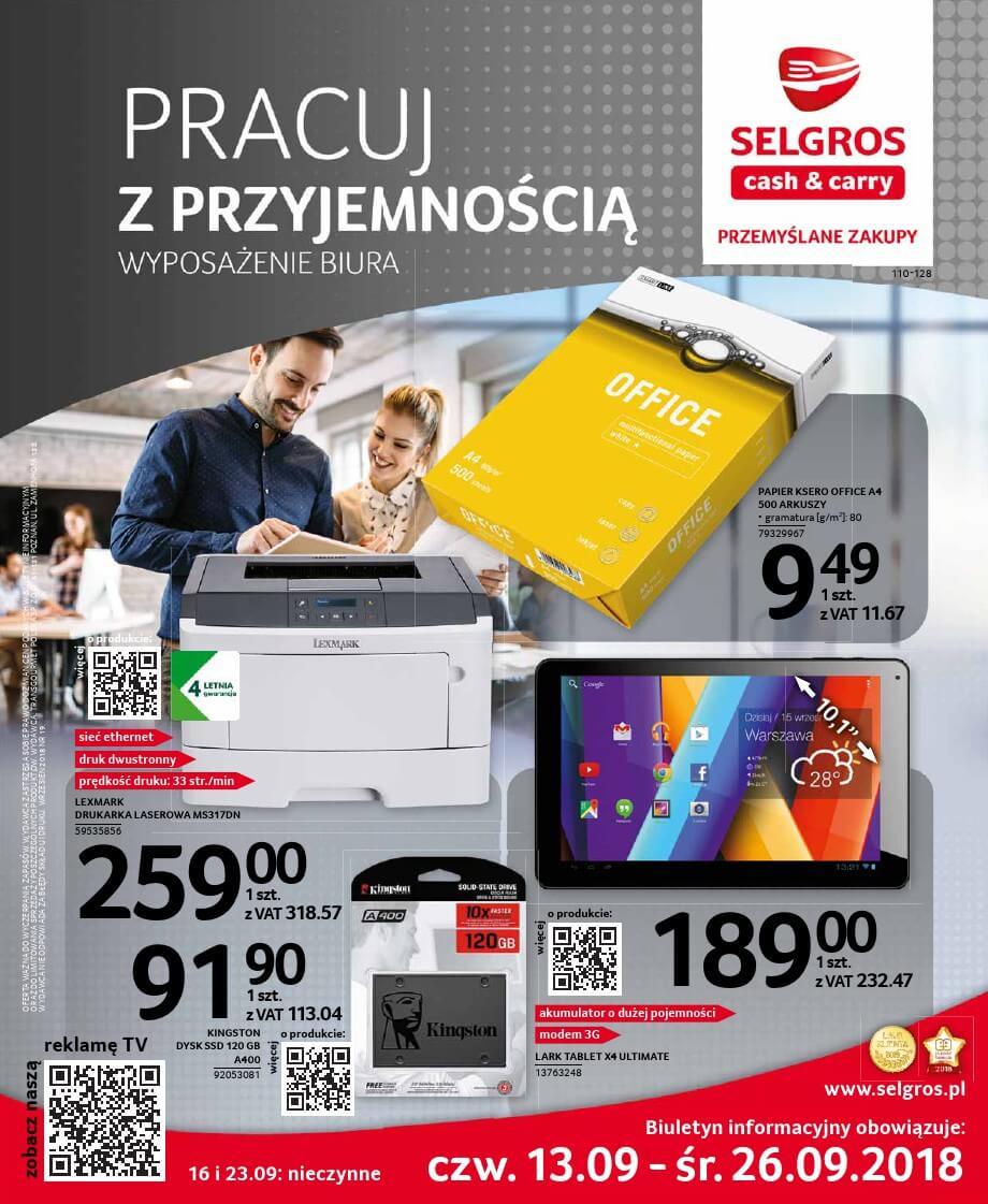 Selgros, gazetka do 26.09.2018