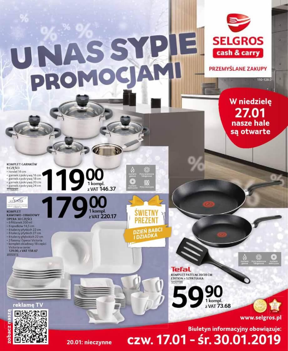 Selgros, gazetka do 30.01.2019