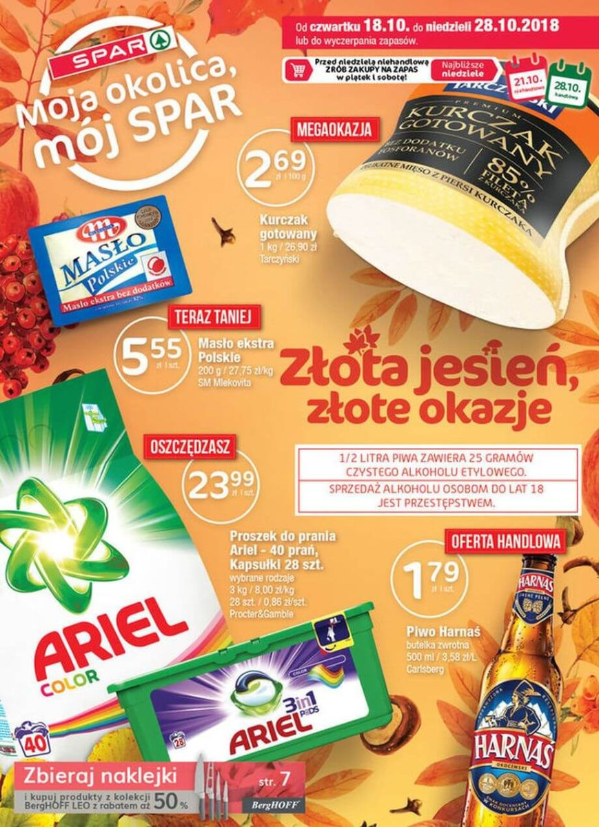 Spar, gazetka do 28.10.2018