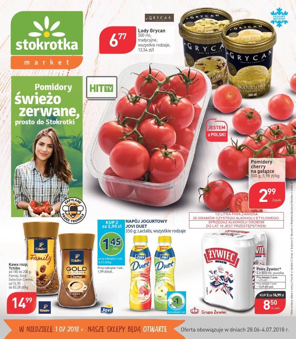Stokrotka, gazetka do 04.07.2018