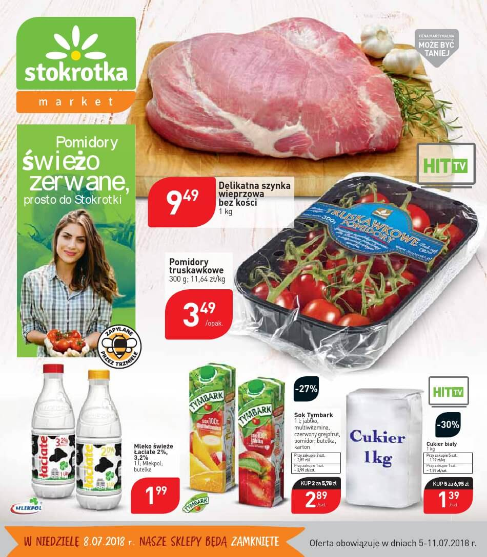 Stokrotka, gazetka do 11.07.2018