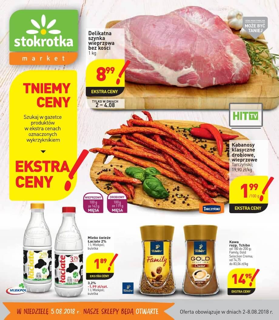Stokrotka, gazetka do 08.08.2018