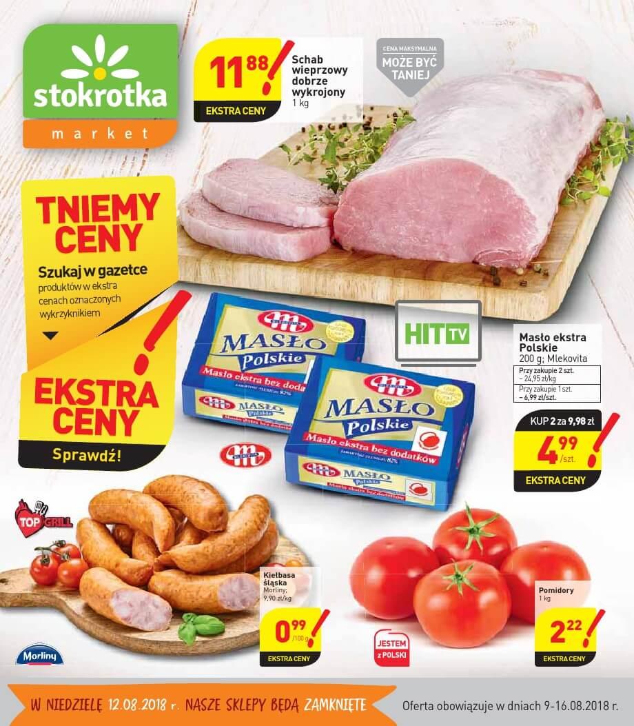 Stokrotka, gazetka do 16.08.2018
