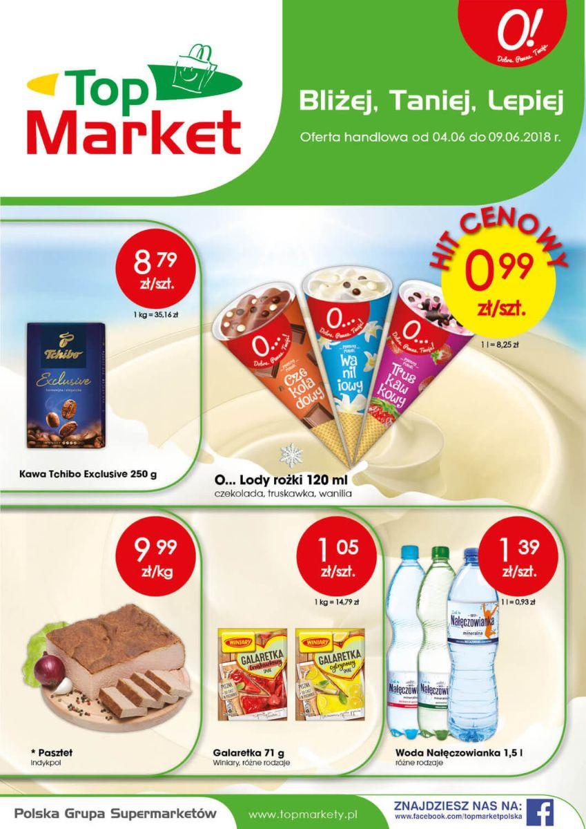 Top Market, gazetka do 09.06.2018