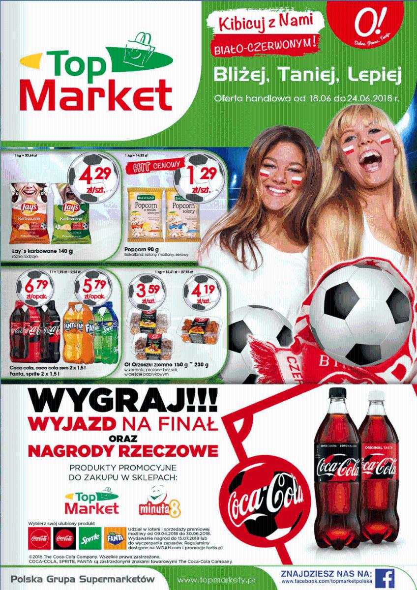 Top Market, gazetka do 24.06.2018