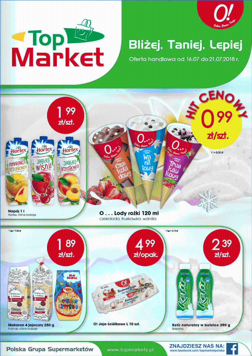 Top Market, gazetka do 21.07.2018