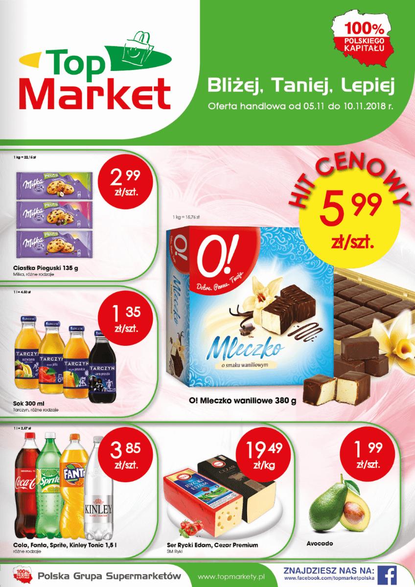 Top Market, gazetka do 10.11.2018