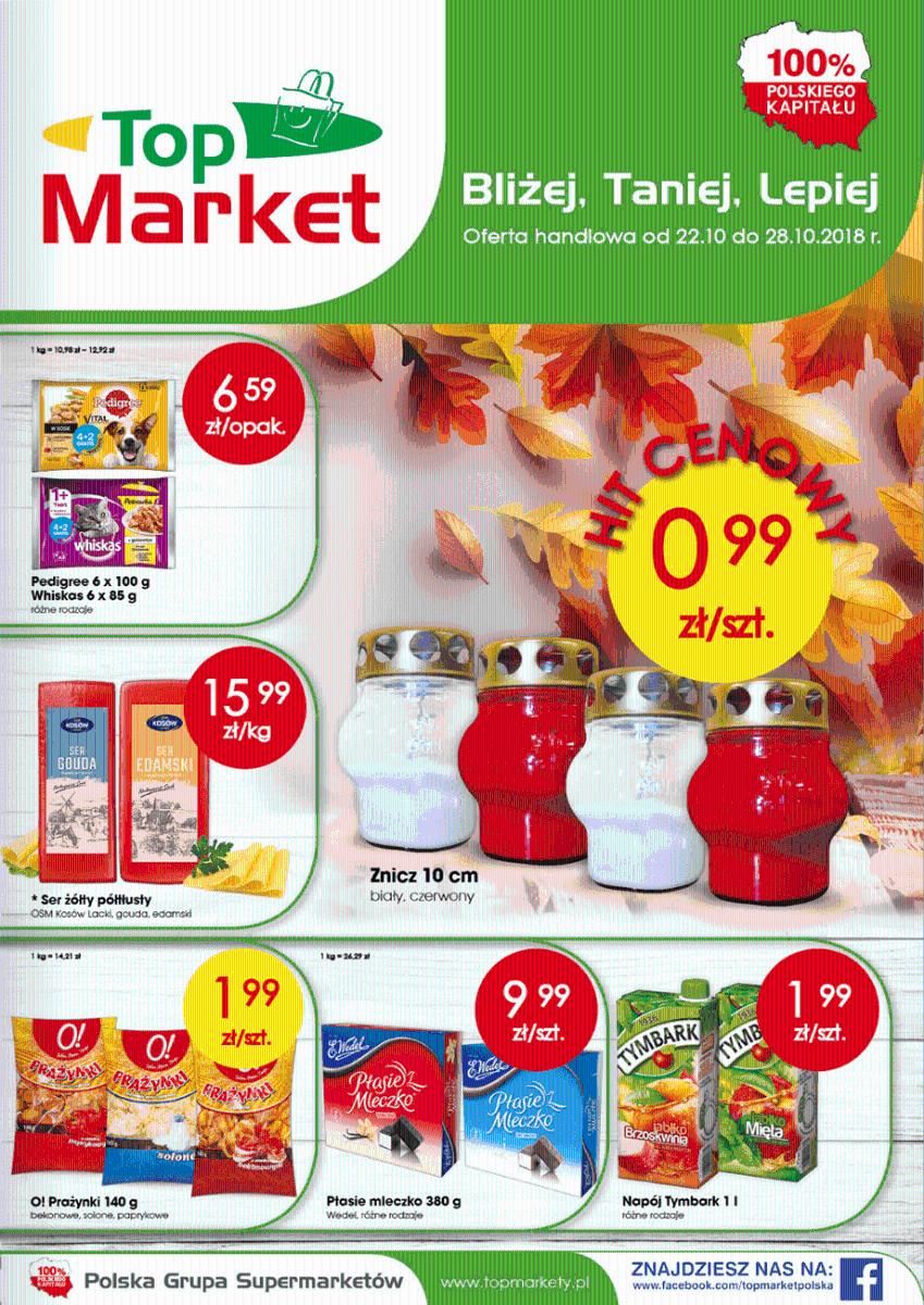 Top Market, gazetka do 28.10.2018