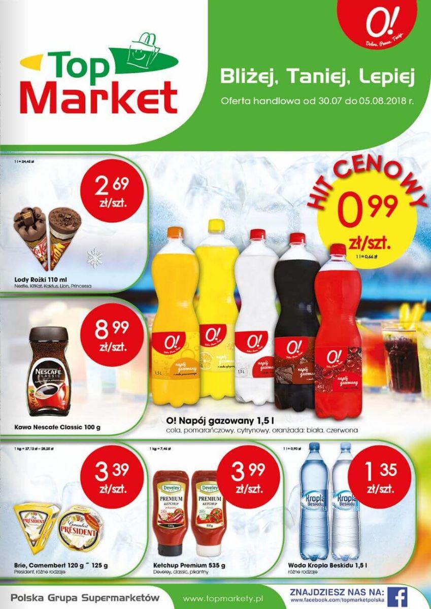 Top Market, gazetka do 05.08.2018