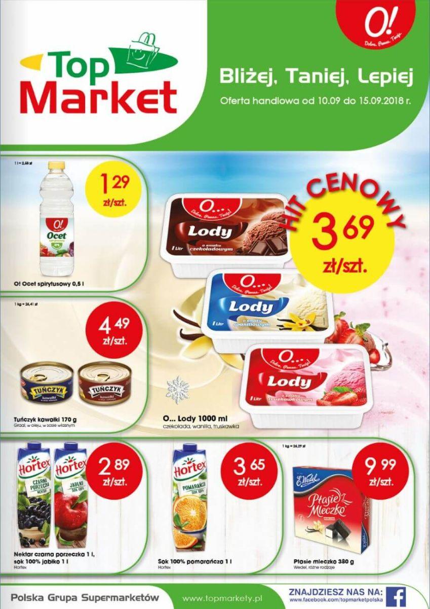 Top Market, gazetka do 15.09.2018