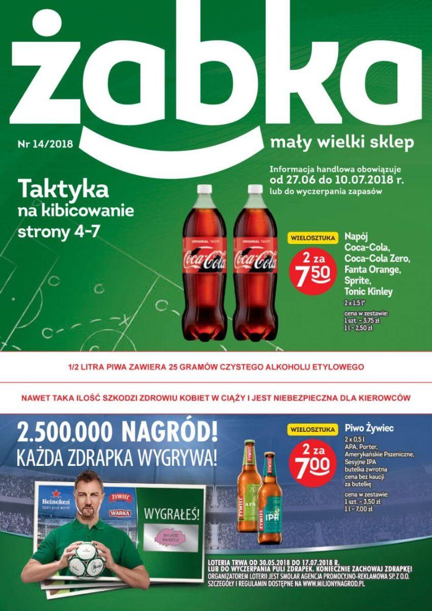 Żabka, gazetka do 10.07.2018