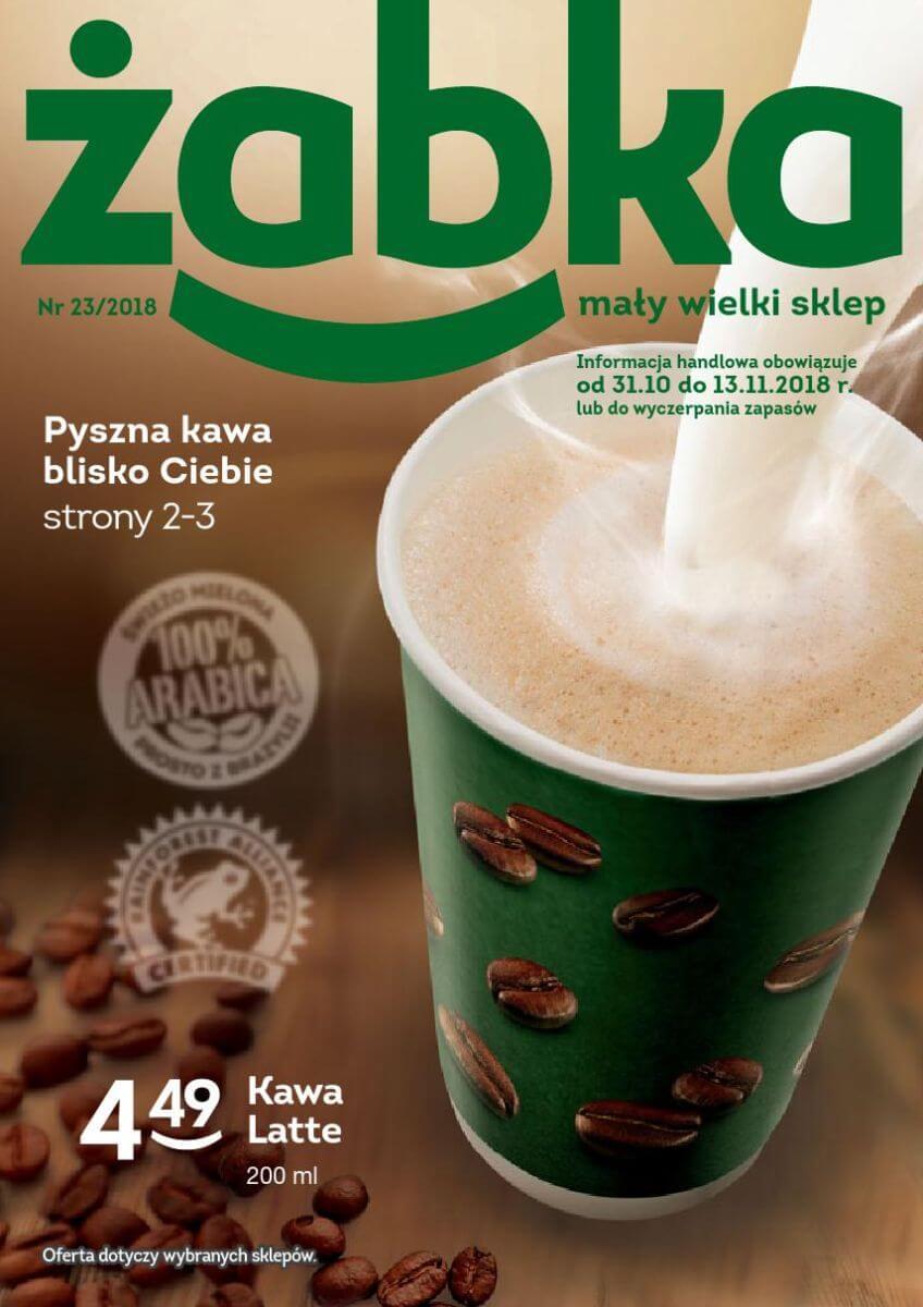 Żabka, gazetka do 13.11.2018