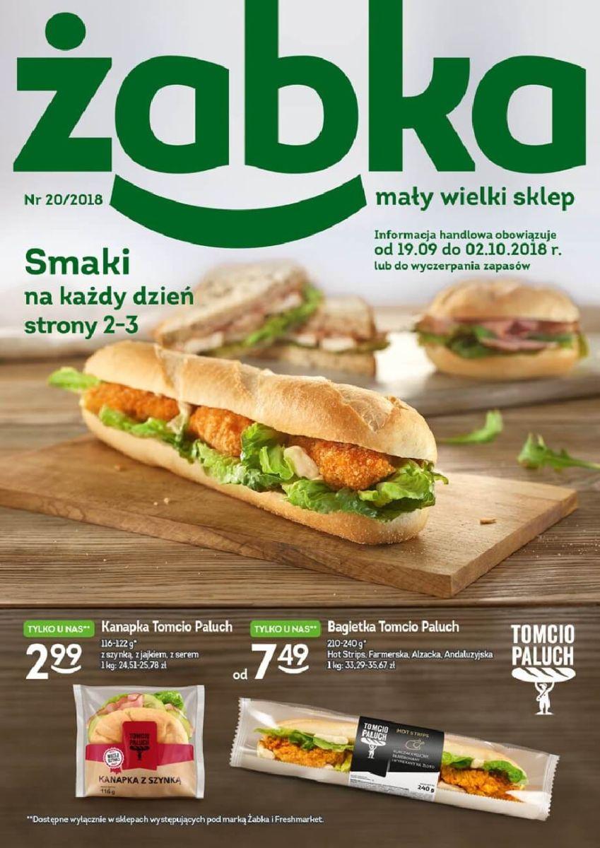 Żabka, gazetka do 02.10.2018