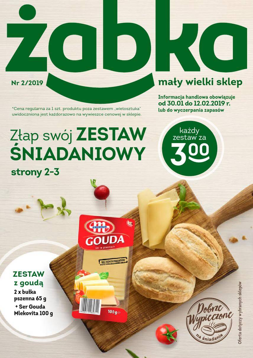 Żabka, gazetka do 12.02.2019