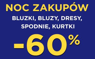 5.10.15 - noc zakupów  z rabatami do -60%