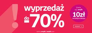 Empik - Wyprzedaż do -70% + 10 zł na następna zakupy z kartą Mój Empik!