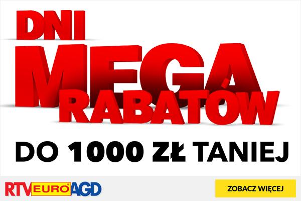 Mega rabaty w RTV Euro AGD. Nawet do 100zł taniej.