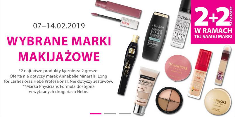 Kosmetyki w promocji w ramach jedenj marki.