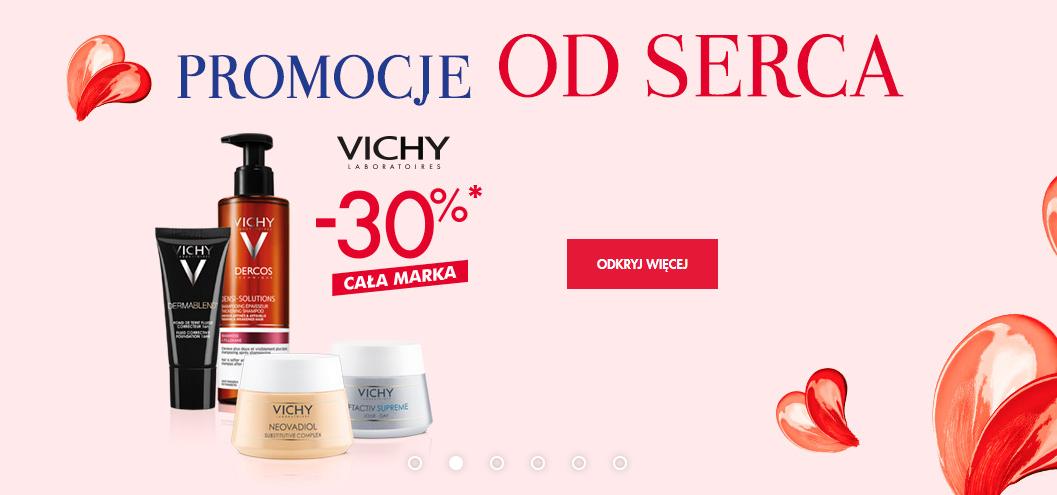 Cała marka VICHY 30% taniej.