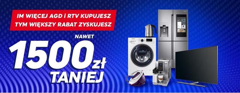 Wybierz minimum 2 różne produkty promocyjne AGD i RTV i kupuj taniej w Neonet.