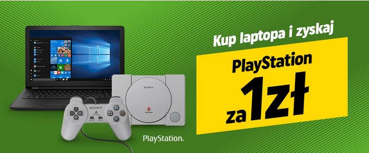 Kup laptopa i odbierz Play Station Classic za 1 zł w Neonet.