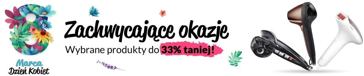 Wybrane produkty 33% taniej na Dzień Kobiet w RTV Euro AGD.