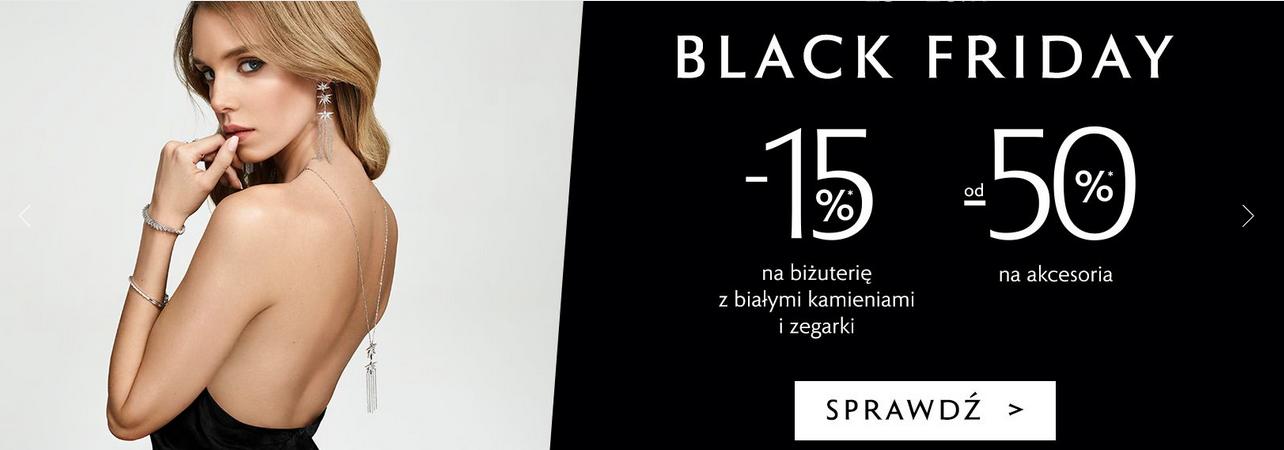 Rabat 50% na akcesoria i -15% na biżuterię.