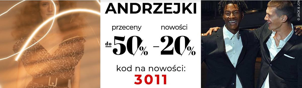 Rabat 50% na przeceny i 20% na nowości w Answear.