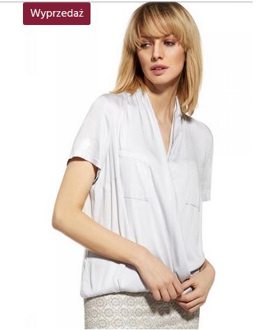 Biała koszula w świetnej cenie.