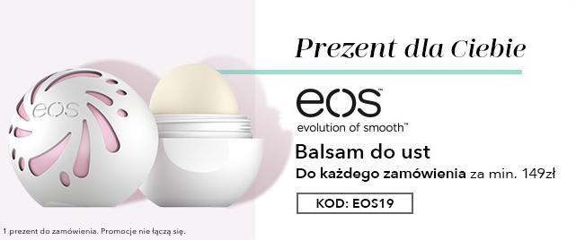 Balsam EOS w prezencie do każdego zamówienia za min. 149 zł.