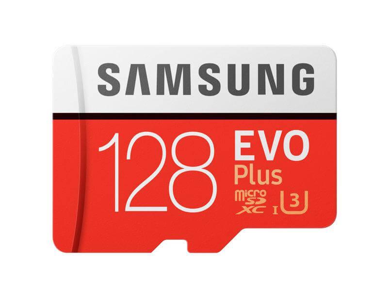 Karta pamięci SAMSUNG EVO+ microSD 128GB 100/90 MB/s + Darmowa dostawa