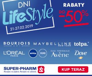 Rabaty do - 50% z okazji Dni LifeStyle w Super-Pharm.