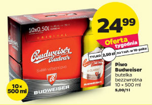 Netto - Piwo Budweiser 10x 500 ml